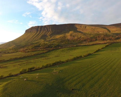 CLIMB BENBULBEN MOUNTAIN